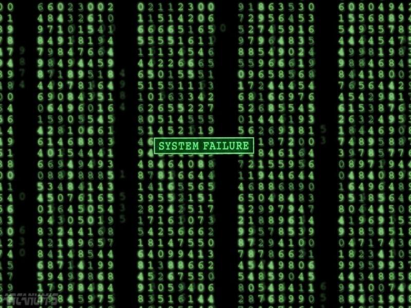 Обои для рабочего стола - Матрица Matrix 1024x768